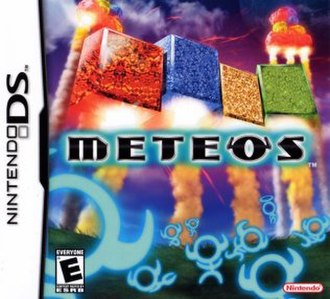 Meteos - North American box art
