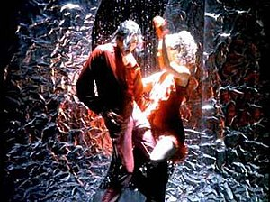 """Blood on the Dance Floor (song) - Jackson and Azur in the music video for """"Blood on the Dance Floor""""."""