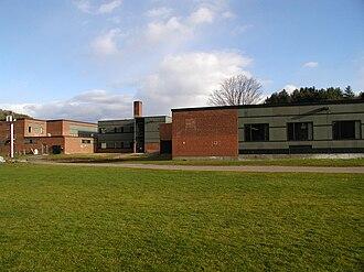 Montpelier High School (Vermont) - Back of MHS