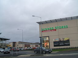 Dunnes Stores in the Forte Shopping Centre in Letterkenny, County Donegal