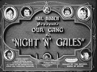 <i>Night n Gales</i> 1937 film by Gordon Douglas