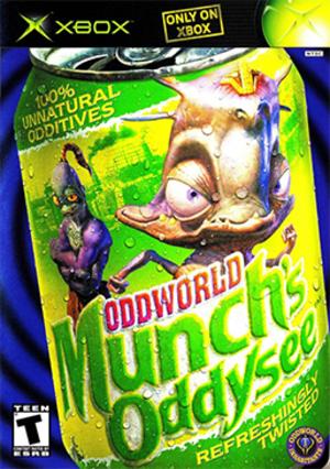 Oddworld: Munch's Oddysee - North American Xbox cover art