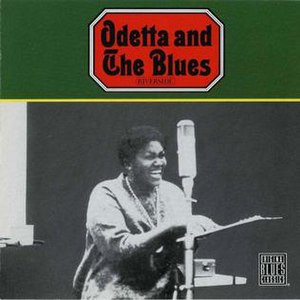 Odetta and the Blues - Image: Odetta Odetta And The Blues Front cover