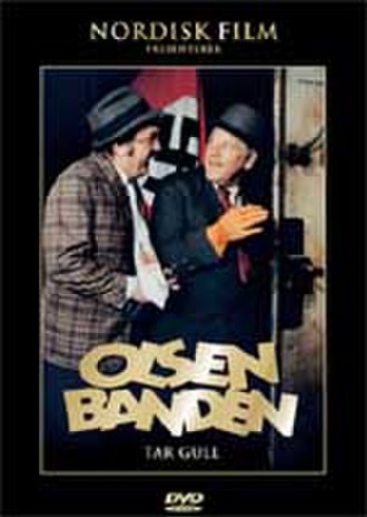 Olsenbanden tar gull - DVD cover