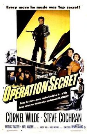 Operation Secret - Theatrical release poster