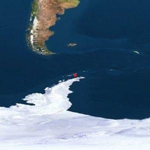 Orca Seamount - Image: Orca Location Map