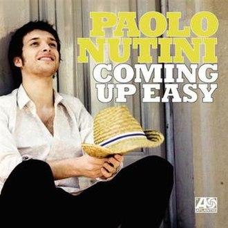 Coming Up Easy - Image: Paolo Nutini Coming Up Easy