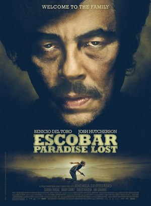 Escobar: Paradise Lost - Theatrical release poster