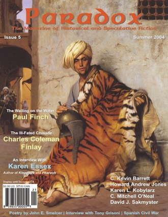 Paradox (magazine) - The cover of Paradox issue 5 (Summer 2004)
