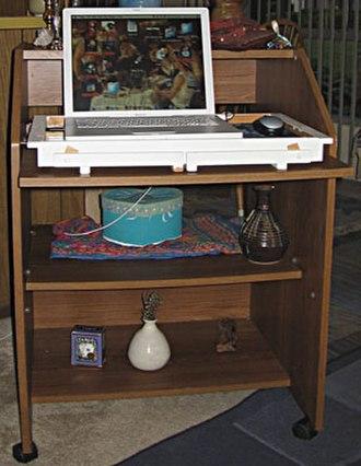 Writing desk - Minimal modern writing desk