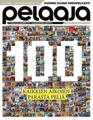 Pelaaja - Cover of issue 100 of Pelaaja-magazine