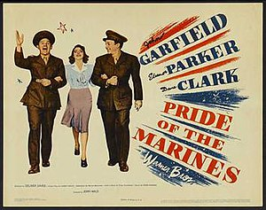 Pride of the Marines - Original film poster