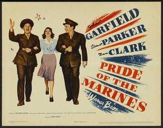 Pride of the Marines - Original film poster