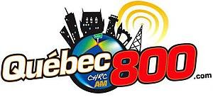 CHRC (AM) - Image: Quebec 800