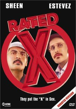 Rated X (film) - Unrated DVD cover