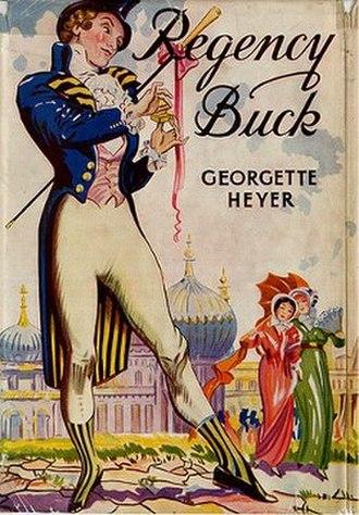 Regency Buck - First edition