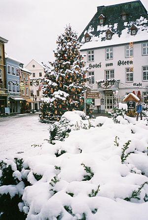 Ahrweiler (district) - Downtown Ahrweiler during Christmas