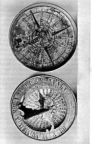 Roger Williams' compass used during his journey to Providence