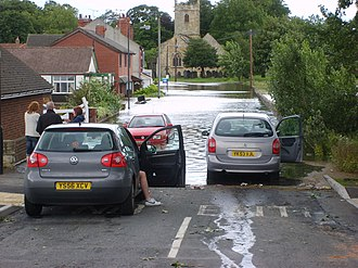 Adwick le Street - Floods in June 2007