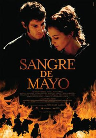 Sangre de Mayo - Theatrical release poster