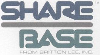 Britton Lee, Inc. - Image: Share Base Logo