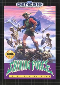 Shining Force – European box art