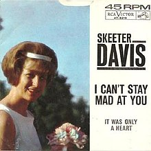 Skeeter Davis--I Can't Stay Mad at You.jpg