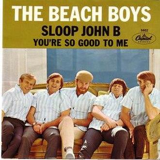 Sloop John B - Image: Sloop John B cover