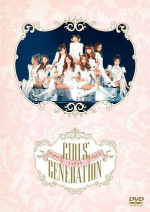 The First Japan Arena Tour (Girls' Generation) - Image: Snsdjapantourdvd
