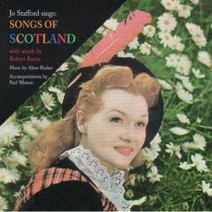 Songs of Scotland (Jo Stafford album) - Image: Songs of Scotland stafford reduced