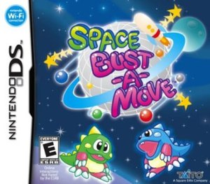Space Bust-a-Move - Cover art