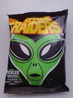 Space Raiders (snack food)