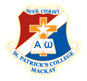 St Patrick's College, Mackay - Image: St Patrick's College crest