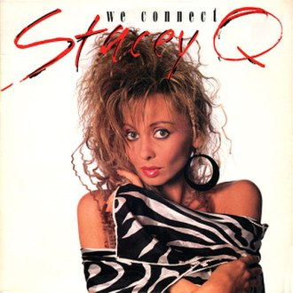 We Connect - Image: Stacey Q We Connect 7Inch Single Cover