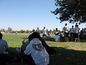 Cerritos High School - 2006 Staff vs Student soccer game