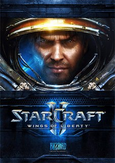 <i>StarCraft II: Wings of Liberty</i> Real-time strategy game from the year 2010