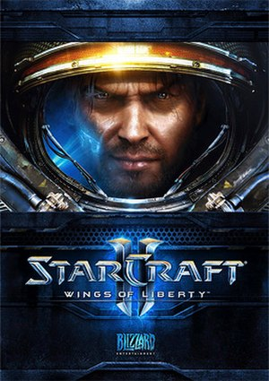 StarCraft II: Wings of Liberty - StarCraft II: Wings of Liberty cover artwork, depicting protagonist Jim Raynor