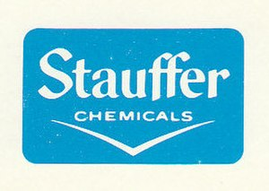 Stauffer Chemical - Image: Stauffer Chemicals Logo 1977
