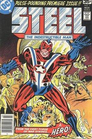 Commander Steel - Image: Steelindestructman 1 1978