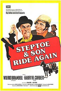 <i>Steptoe and Son Ride Again</i> 1973 film by Peter Sykes