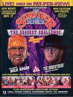 Survivor Series (1991) 1991 World Wrestling Federation pay-per-view event