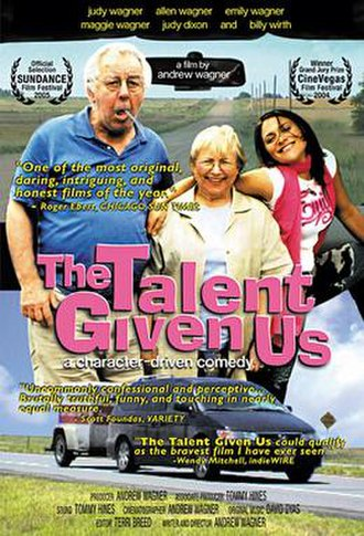 The Talent Given Us - Image: Talentofus One sheet