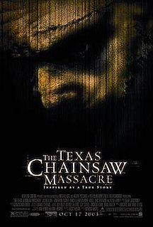 <i>The Texas Chainsaw Massacre</i> (2003 film) 2003 US film directed by Marcus Nispel