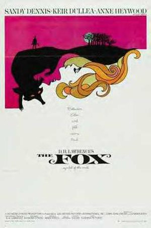 The Fox (1967 film) - Theatrical release poster