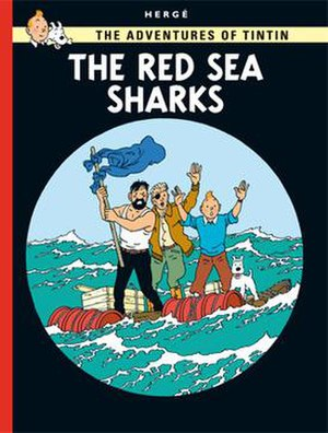 The Red Sea Sharks - Cover of the English edition