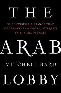 <i>The Arab Lobby</i> book by Mitchell Bard