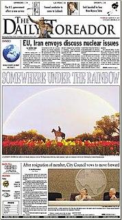 <i>The Daily Toreador</i>
