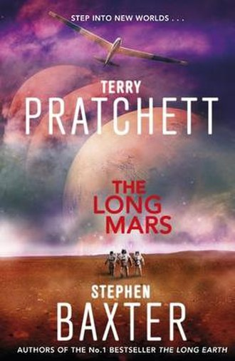 The Long Mars - Image: The Long Mars UK Book Cover