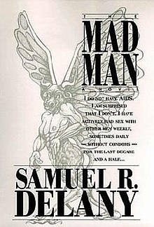 The Mad Man (Samuel R. Delaney novel - cover art).jpg