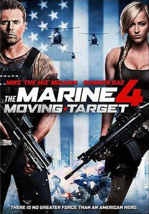 The Marine 4: Moving Target - Image: The Marine 4 Artwork